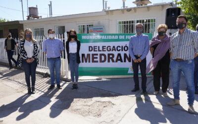 SE INAUGURÓ EL NUEVO EDIFICIO DE LA DELEGACIÓN MUNICIPAL DE MEDRANO
